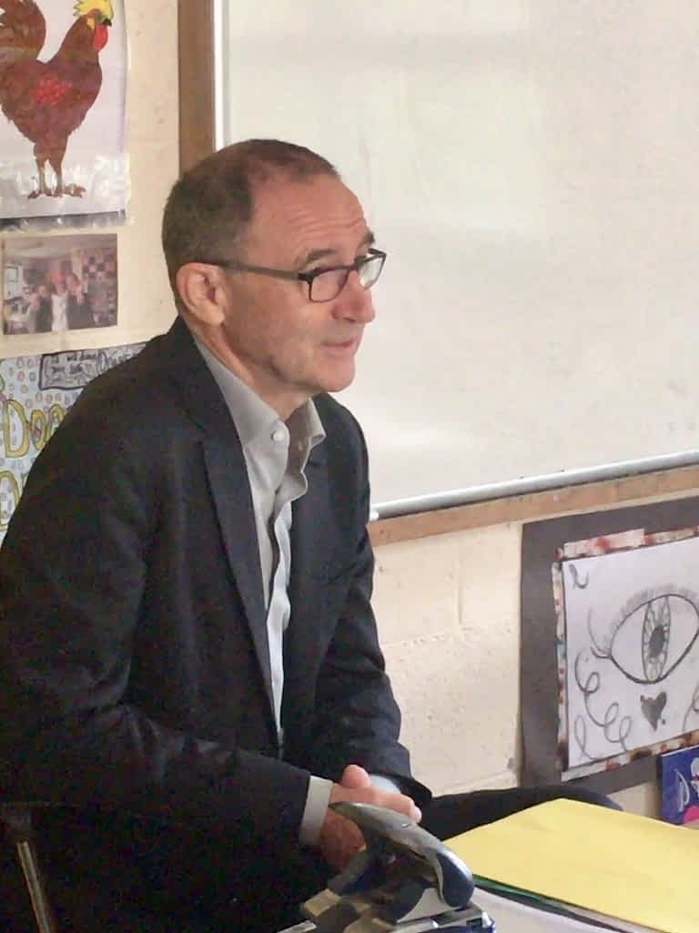 Martin O'Neill Visit